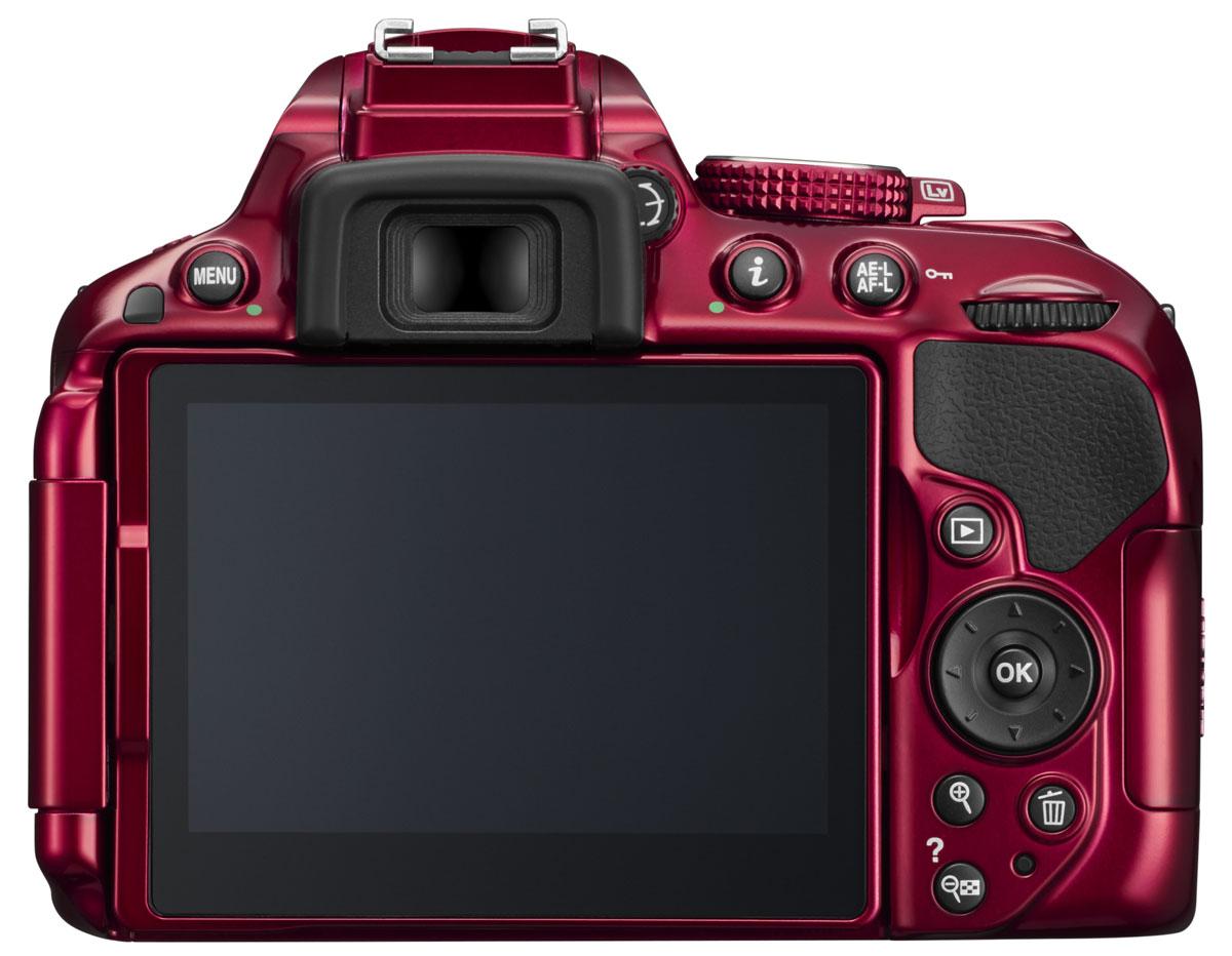 Nikon D5300 Body, Red цифровая зеркальная камера