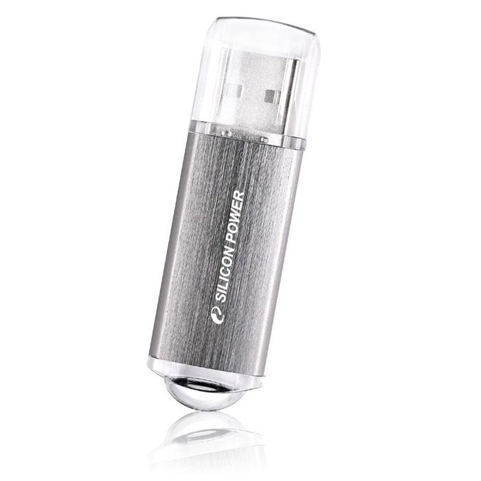Silicon Power Ultima II 8GB, Silver USB-флэш накопитель