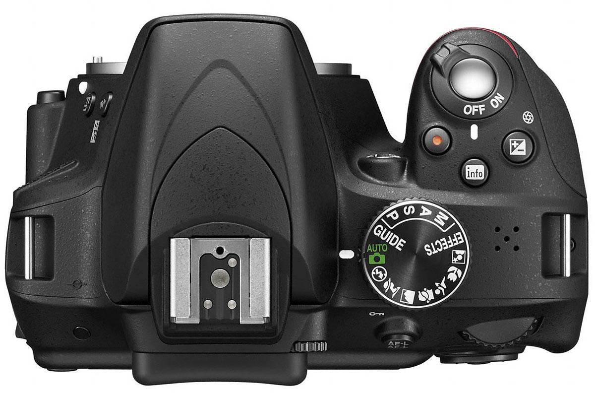 Nikon D3300 Body, Black цифровая зеркальная фотокамера