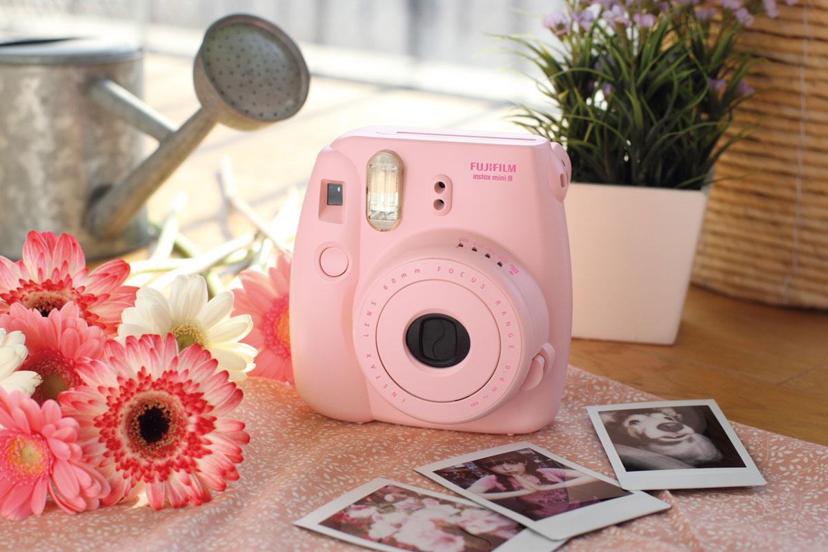 Fujifilm Instax Mini 8, Pink фотоаппарат