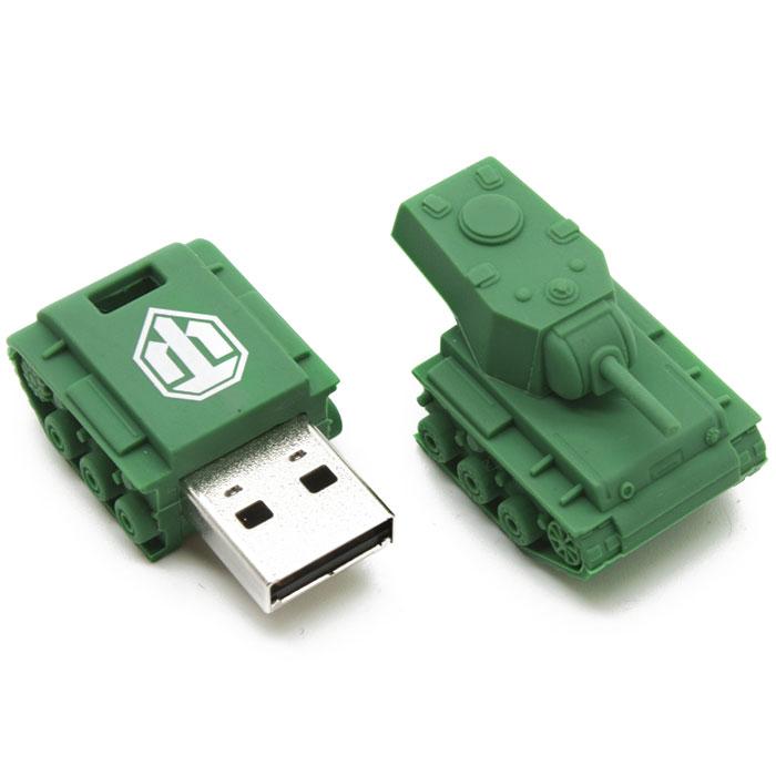 Kingston WOT KV-1 DT-TANK/16GB USB-флэш накопитель