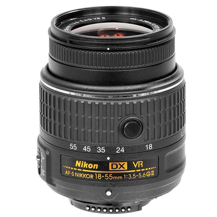 Nikon D5300 Kit 18-55 VR II, Black цифровая зеркальная камера