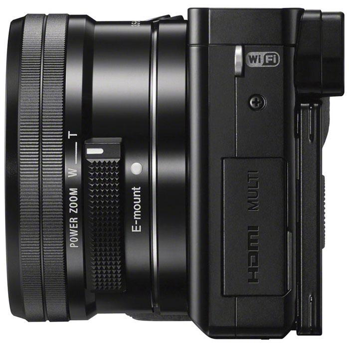 Sony Alpha A6000 Kit 16-50 mm, Black цифровая фотокамера