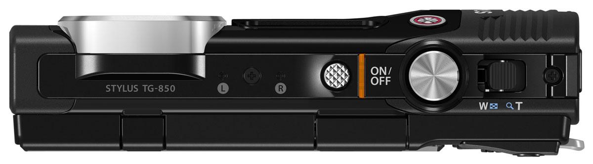 Olympus TG-850, Black цифровая фотокамера