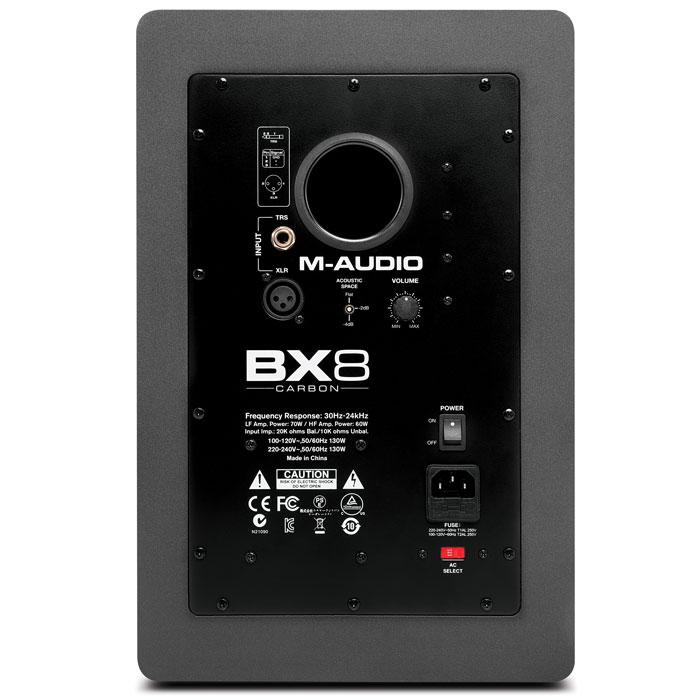 M-Audio BX8 Carbon студийная мониторная акустика (1 шт.)