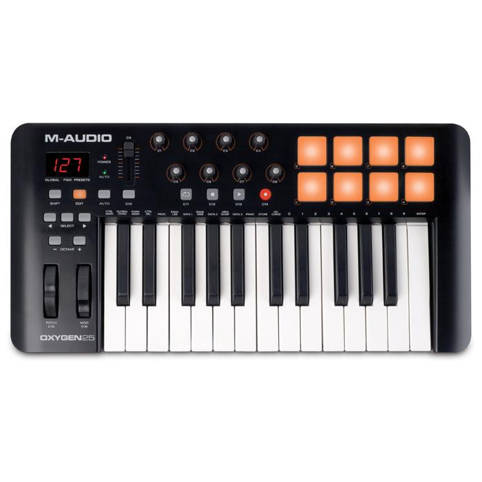 M-Audio Oxygen 25 II midi-клавиатура