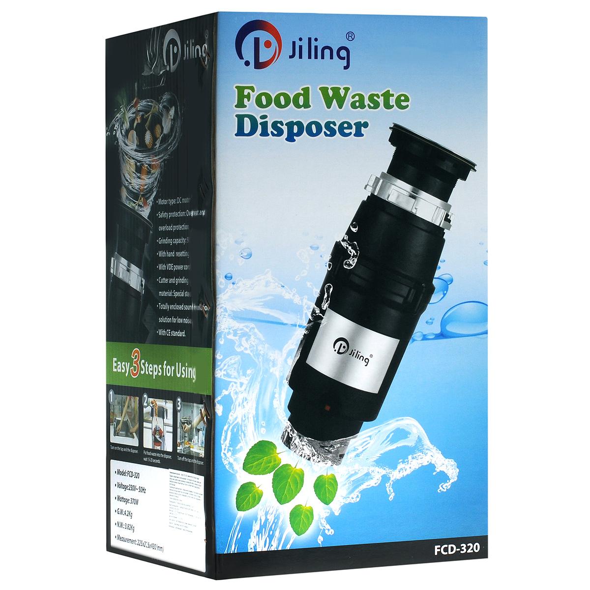 Измельчитель пищевых отходов Jiling FCD-320
