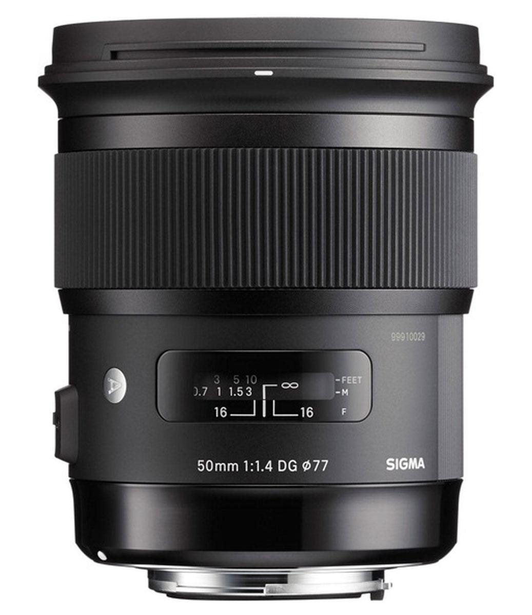Sigma AF 50mm F/1.4 DG HSM Art объектив для Nikon