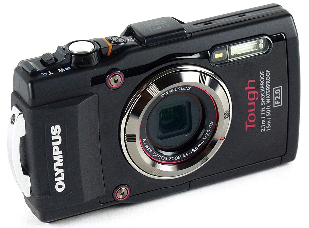 Olympus TG-3, Black цифровая фотокамера