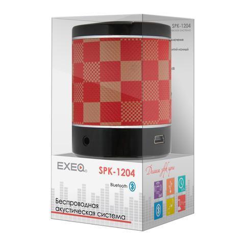 EXEQ SPK-1204, Red портативная АС ( EXEQ SPK-1204 red )