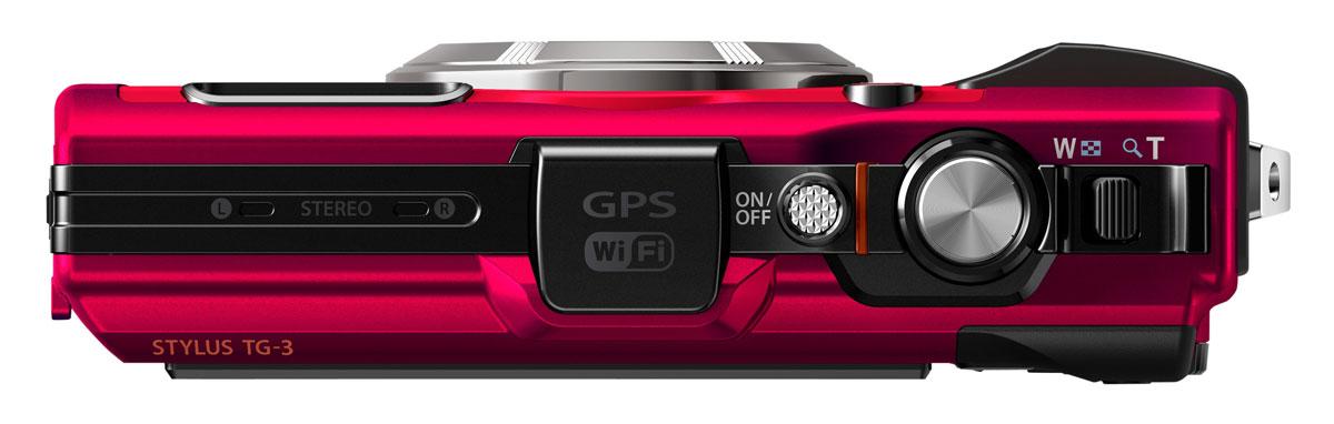 Olympus TG-3, Red цифровая фотокамера