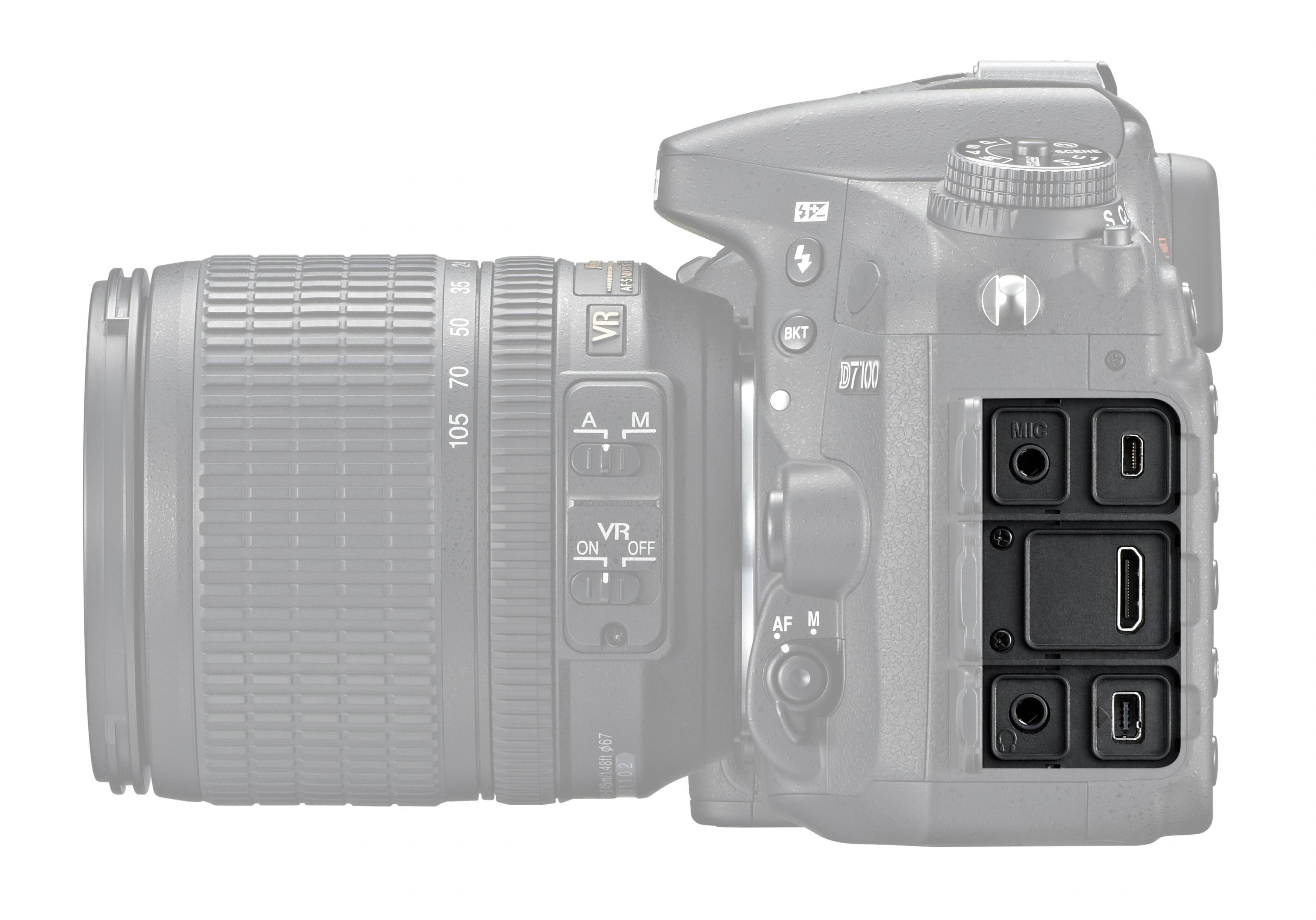 Nikon D7100 Kit 16-85, Black цифровая зеркальная фотокамера