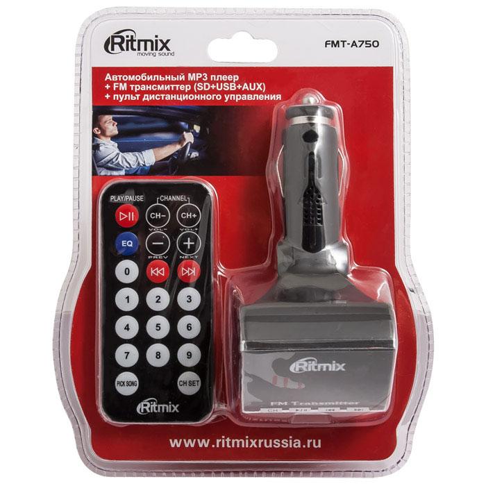 Ritmix FMT-A750 FM-трансмиттер ( 15116162 )