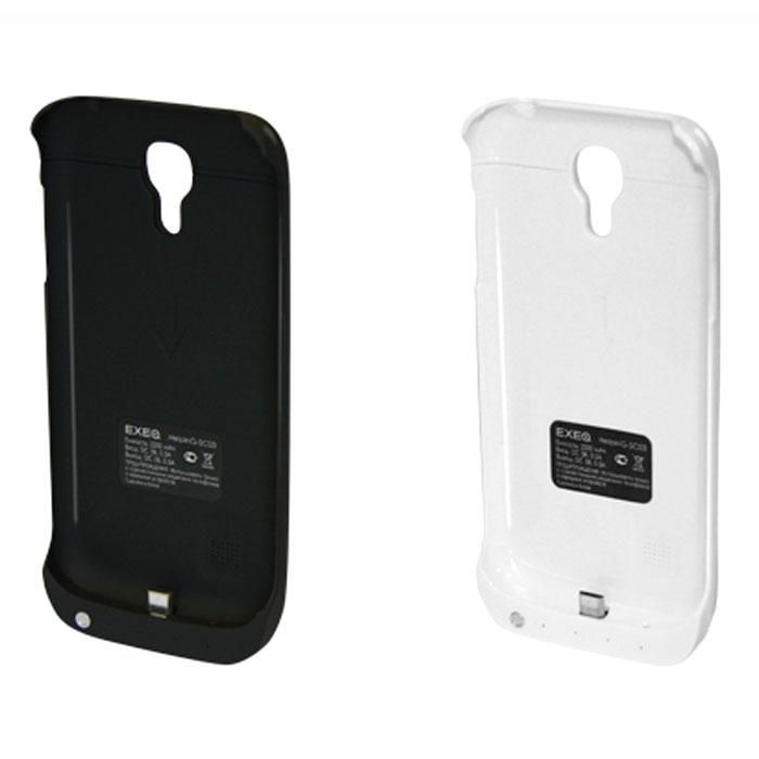 EXEQ HelpinG-SC03 чехол-аккумулятор для Samsung Galaxy S4 mini, White (2200 мАч, клип-кейс)