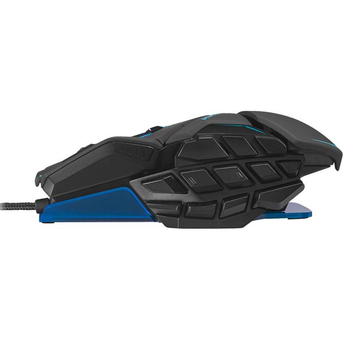 Mad Catz M.M.O.TE, Matt Black лазерная игровая мышь ( MCB437140002/04/1 )