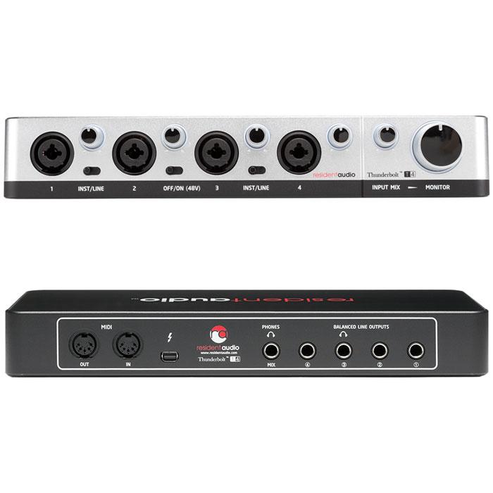 Resident Audio T4 аудиоинтерфейс