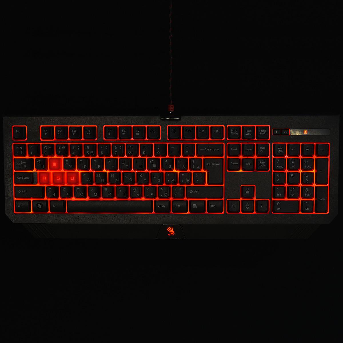 A4Tech Bloody Q1500 (Q110+Q9), Black клавиатура + мышь ( Q1500 )
