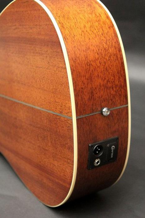 Crafter DE-6/N электро-акустическая гитара + чехол