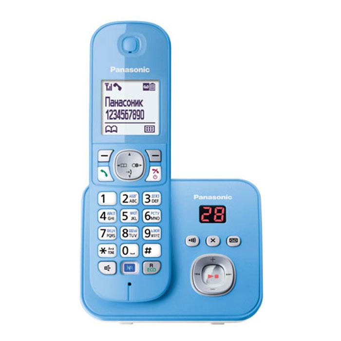 Panasonic KX-TG6821 RUF, Blue DECT телефон