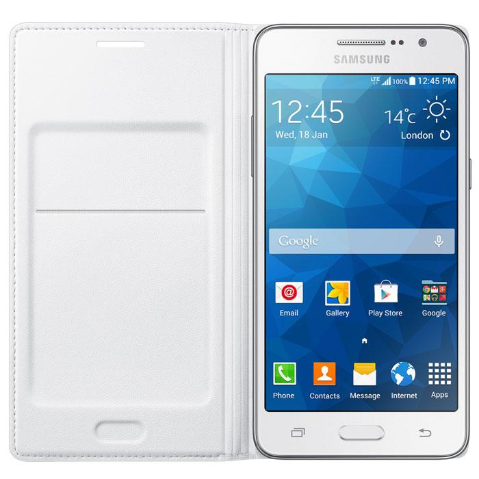 Samsung EF-WG530 Flip Wallet чехол для Grand Prime, White