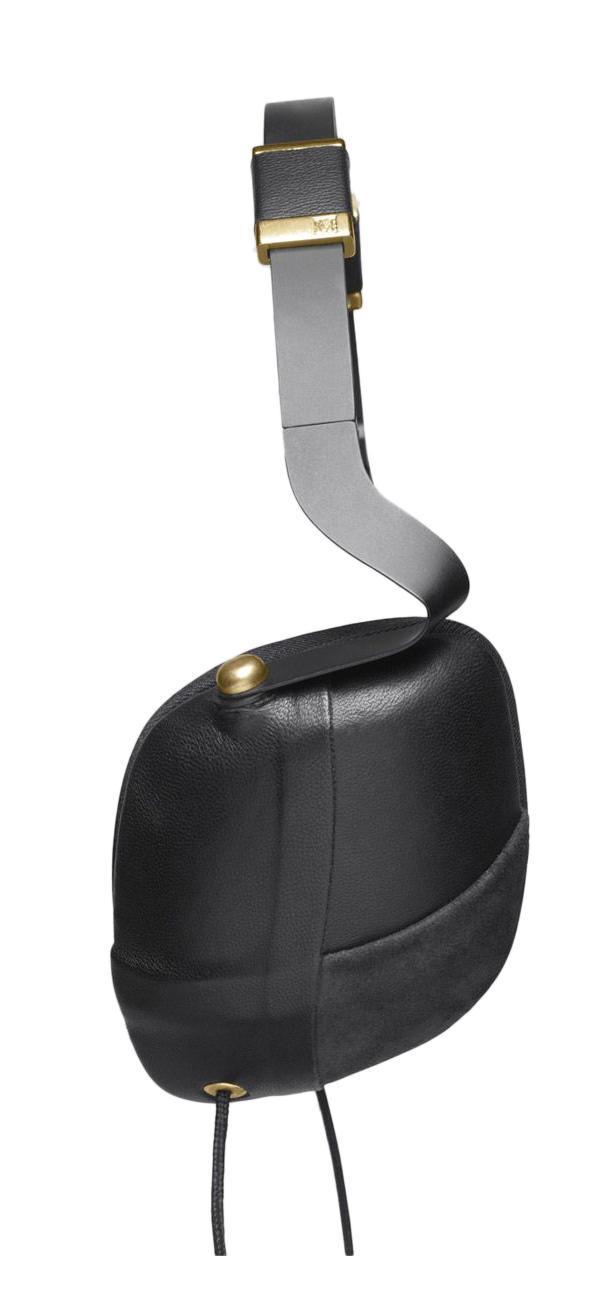 Molami Pleat, Black Gold наушники с функцией гарнитуры