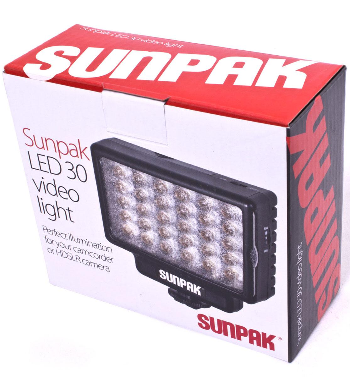 Sunpak LED 30 студийный осветитель