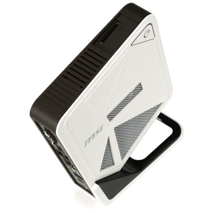 MSI Wind Box DC111-045XRU, White Black неттоп