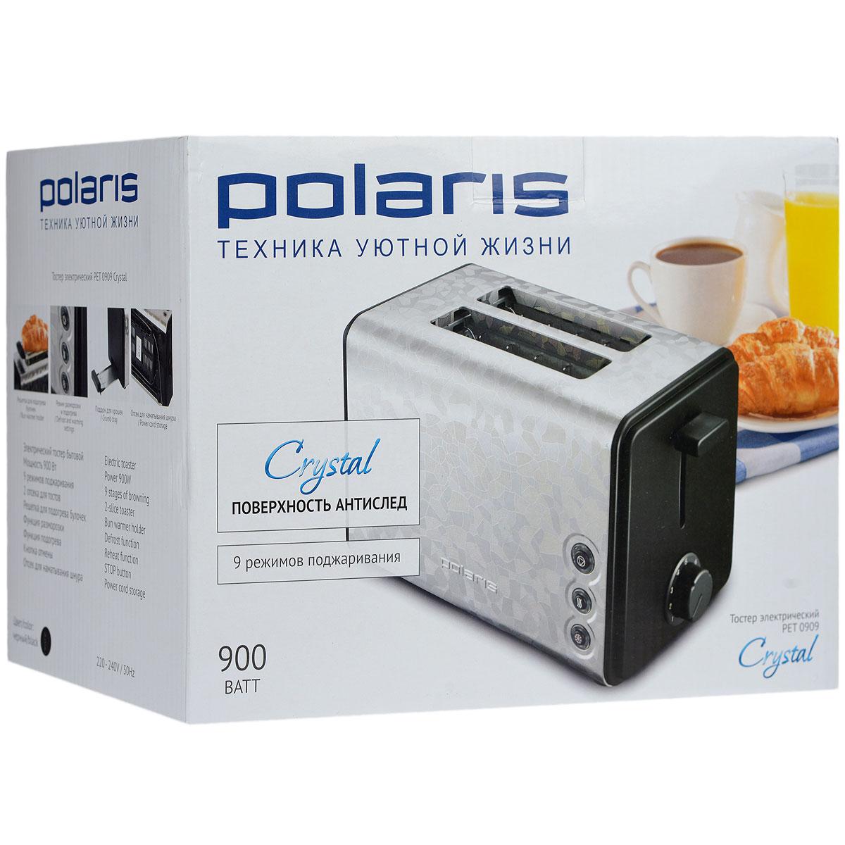 Polaris Pet 0909 Crystal тостер