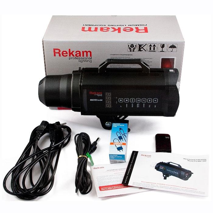 Rekam Master Pro 600 импульсный осветитель с цифровым управлением