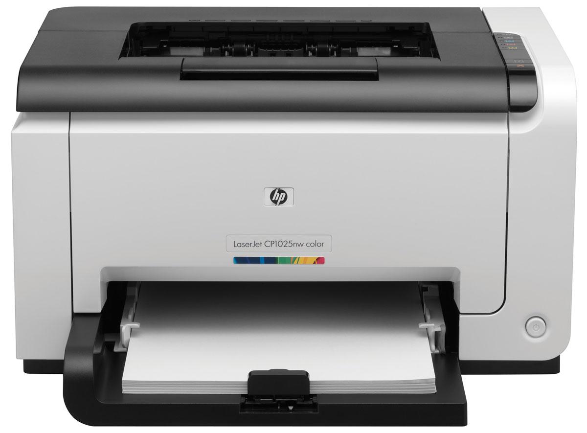 HP LaserJet Pro CP1025nw лазерный принтер (CE918A)
