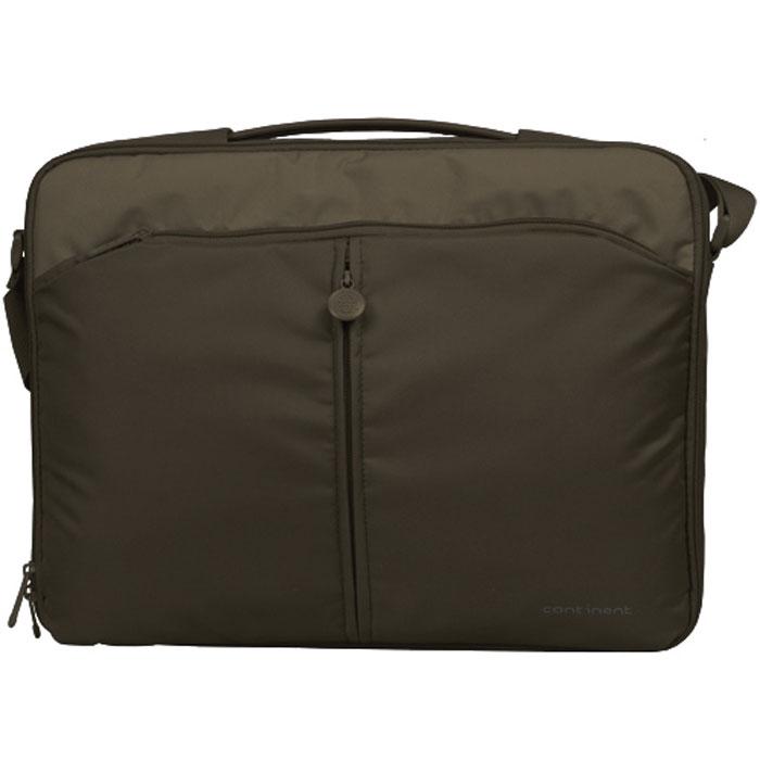 "Continent CC-02, Chocolate сумка для ноутбука 15,6"" ( CC-02 Chocolate )"