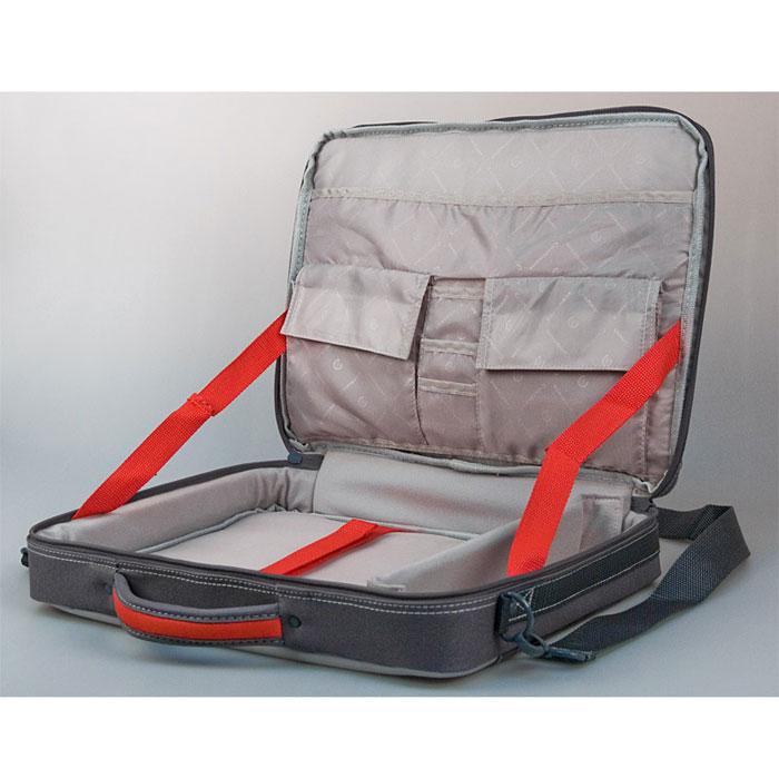 "Continent CC-02, Graphite сумка для ноутбука 15,6"" ( CC-02 Graphite )"