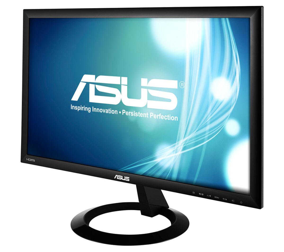 Asus VX228H, Black монитор ( 90LM00L0-B01670 )