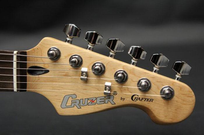 Cruzer ST-120/BK, Black электрогитара
