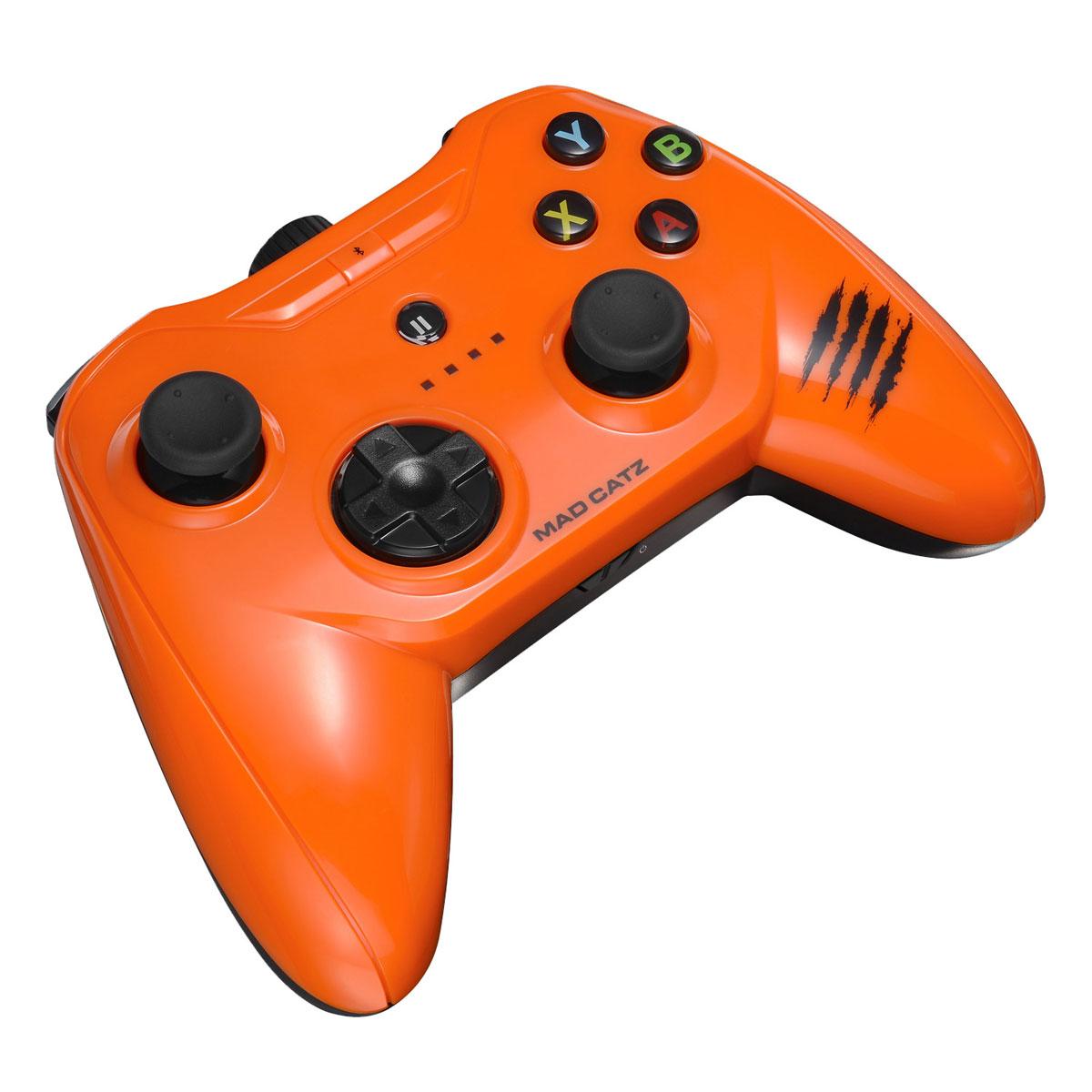 Mad Catz C.T.R.L.i, Gloss Orange беспроводной геймпад для iPhone и iPad