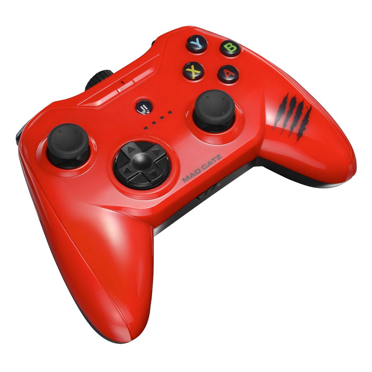 Mad Catz C. T. R. L.i, Gloss Red беспроводной геймпад для iPhone и iPad