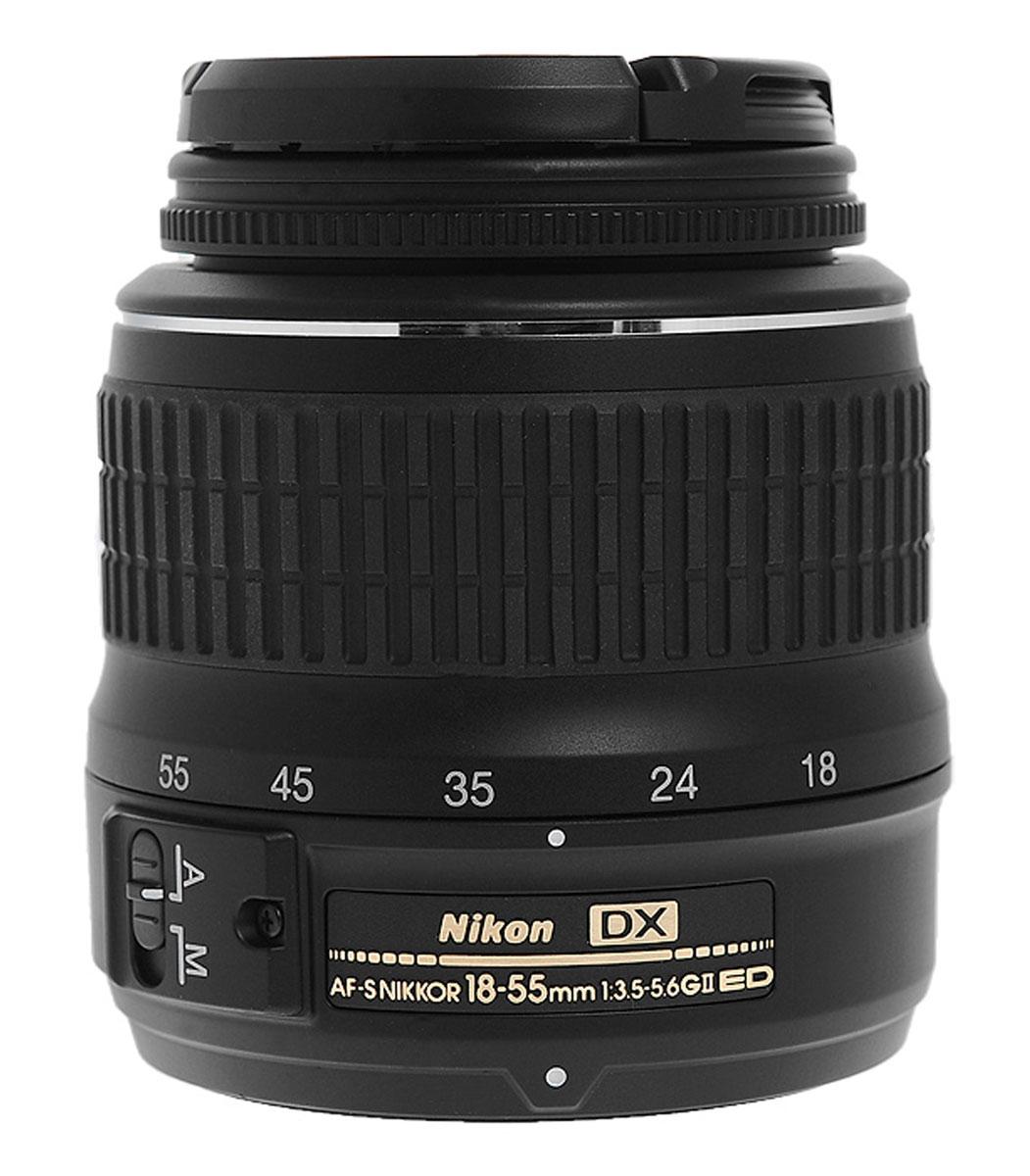 Nikon D5200 Kit 18-55 II, Black цифровая зеркальная камера