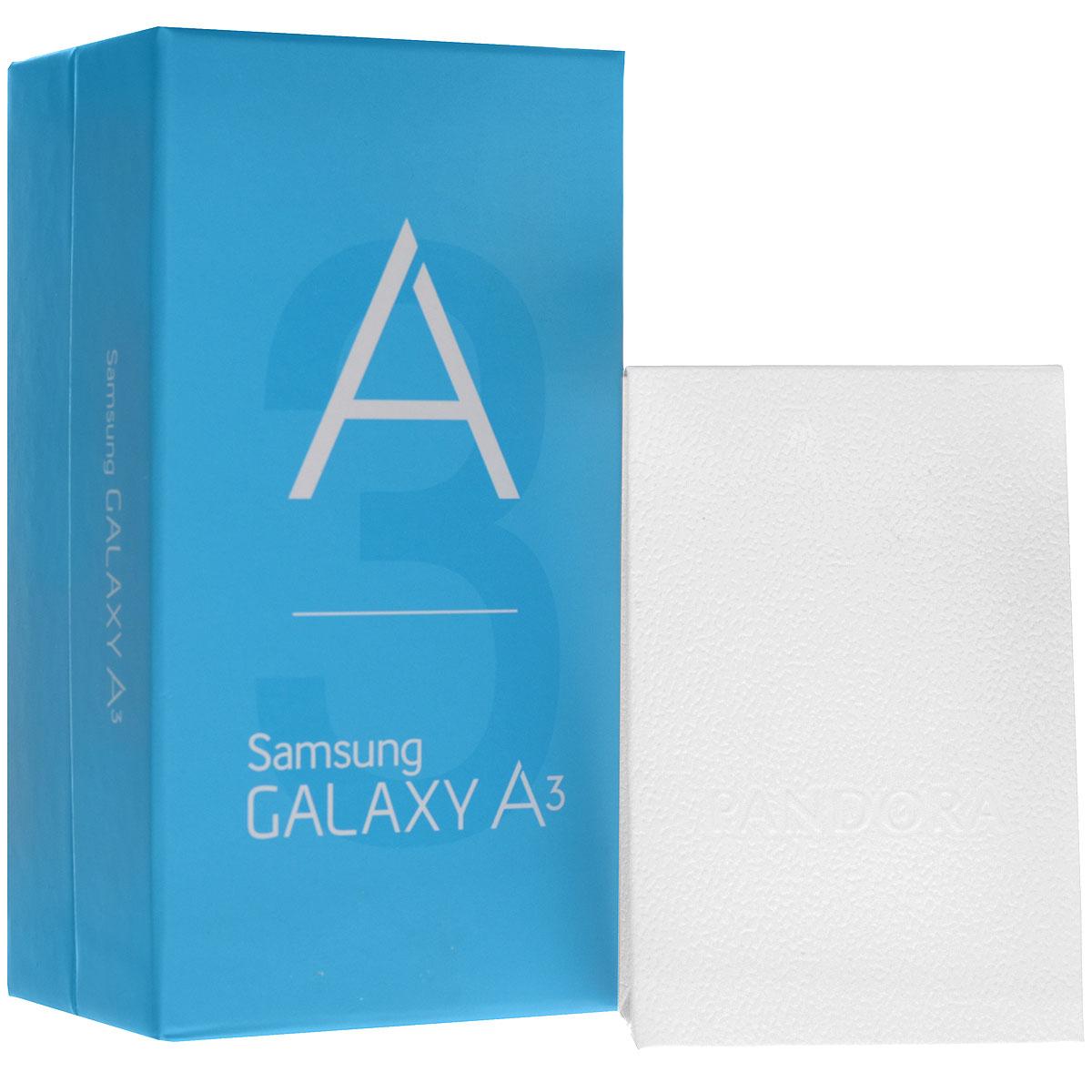 Samsung SM-A300F Galaxy A3, White + браслет Pandora ( F-A304FZWDSER )