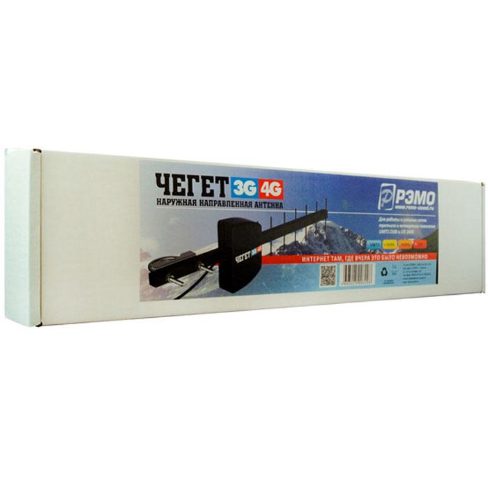 РЭМО Чегет 3G/4G, Black антенна для USB модемов и роутеров
