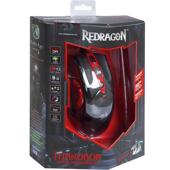 Redragon Titanoboa игровая мышь