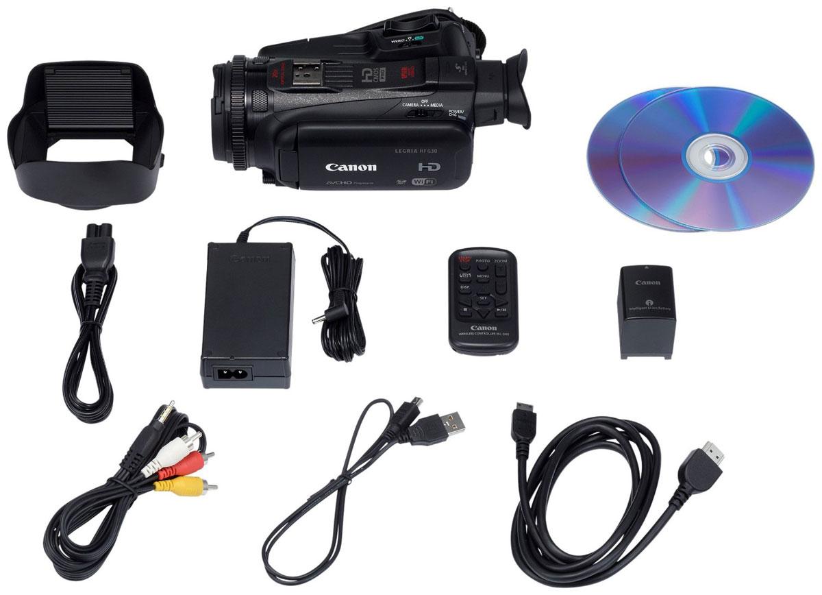 Canon LEGRIA HF G30 цифровая видеокамера
