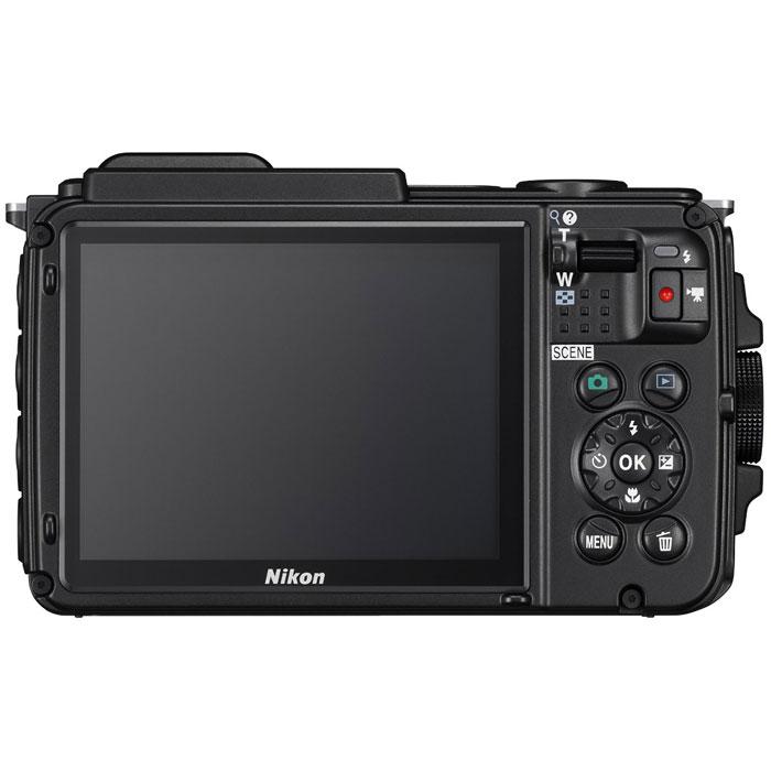 Nikon Coolpix AW130, Black цифровая фотокамера