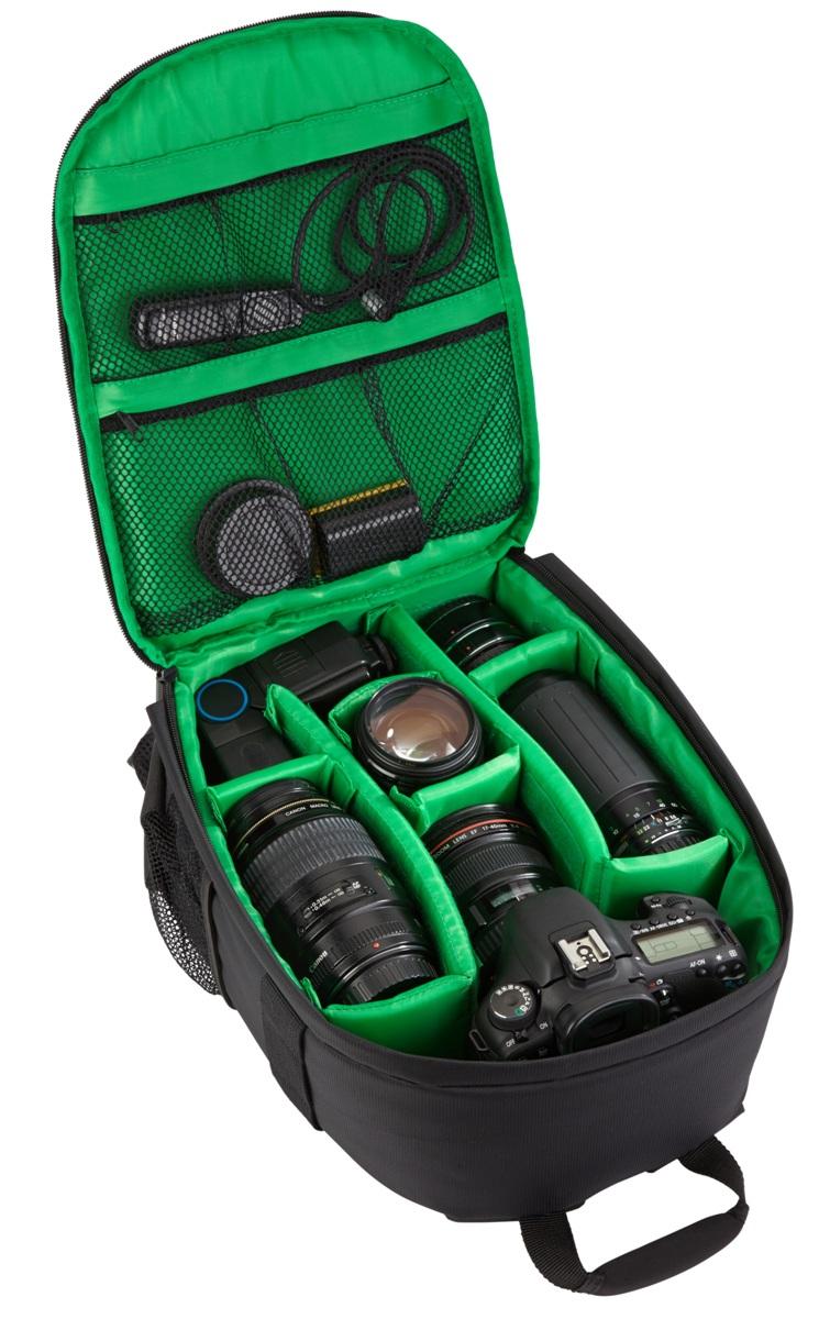 RIVACASE Riva 7460 SLR Backpack, Black рюкзак для зеркальной фотокамеры