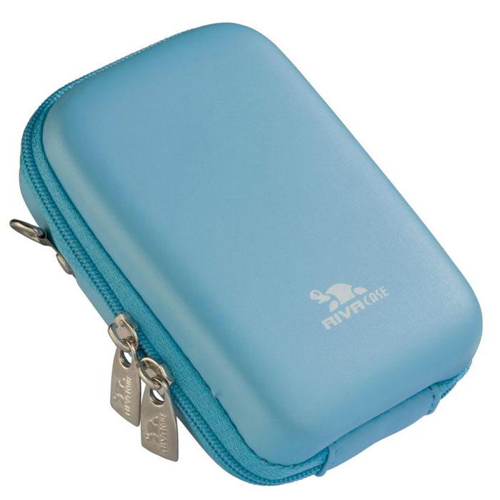 Riva 7103 (PU) Digital Case, Shallow Blue чехол для фотокамеры