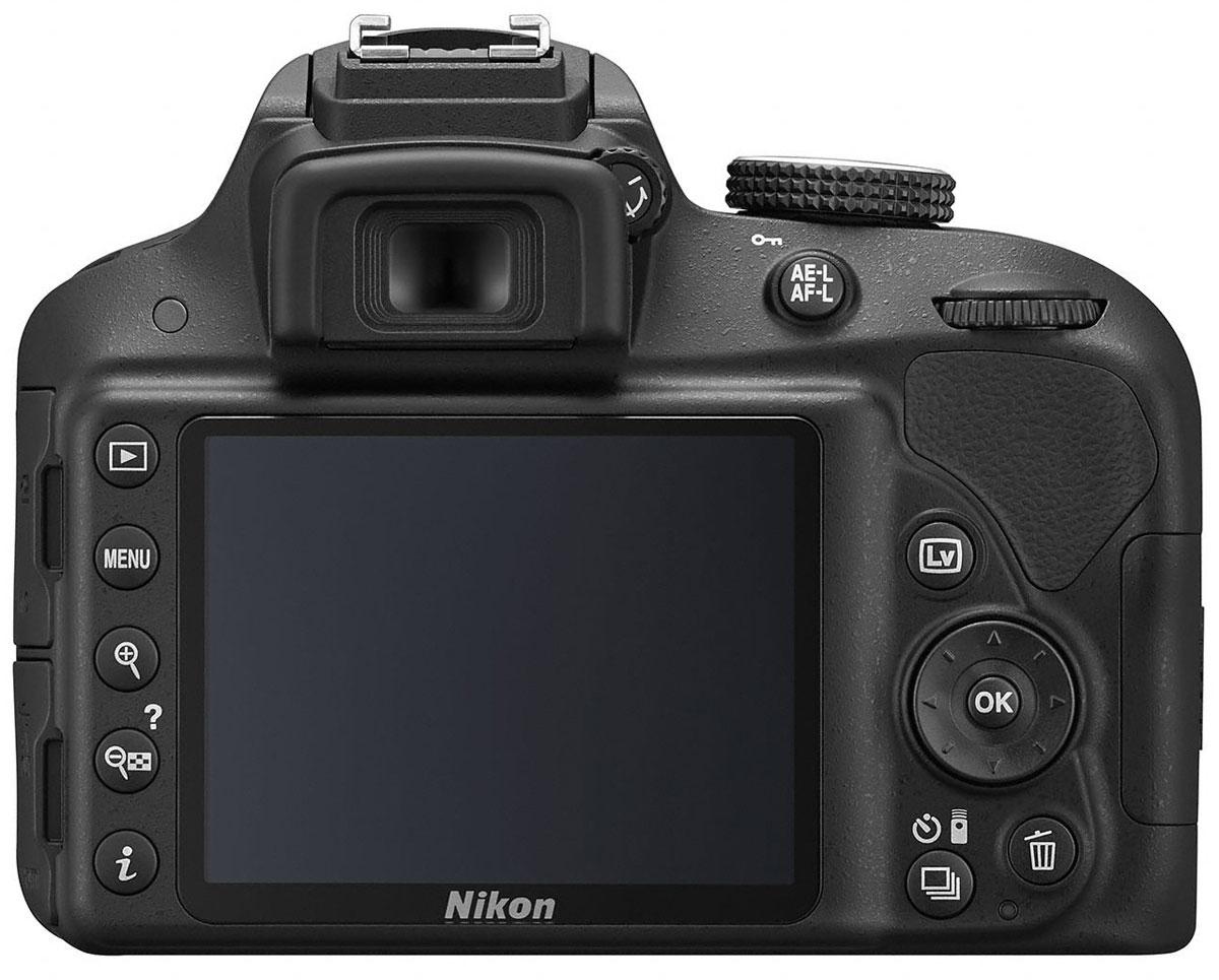 Nikon D3300 Kit 18-55 II, Black цифровая зеркальная фотокамера