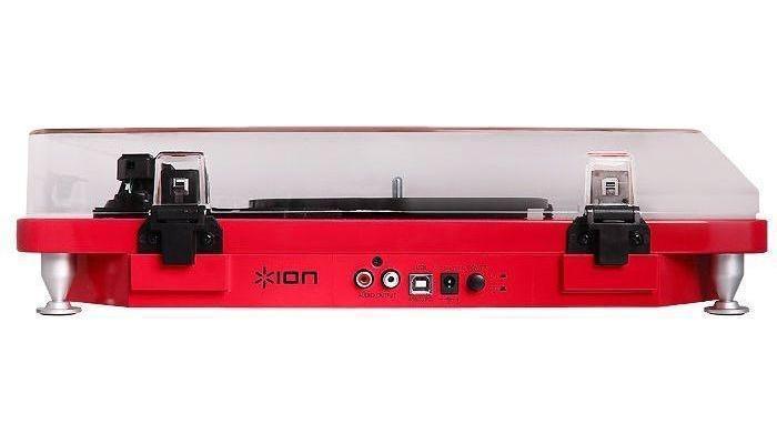 ION Audio Pure LP, Red виниловый проигрыватель
