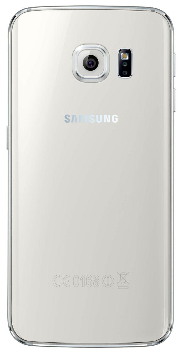 Samsung SM-G925F Galaxy S6 Edge (128 GB), White ( SM-G925FZWFSER )