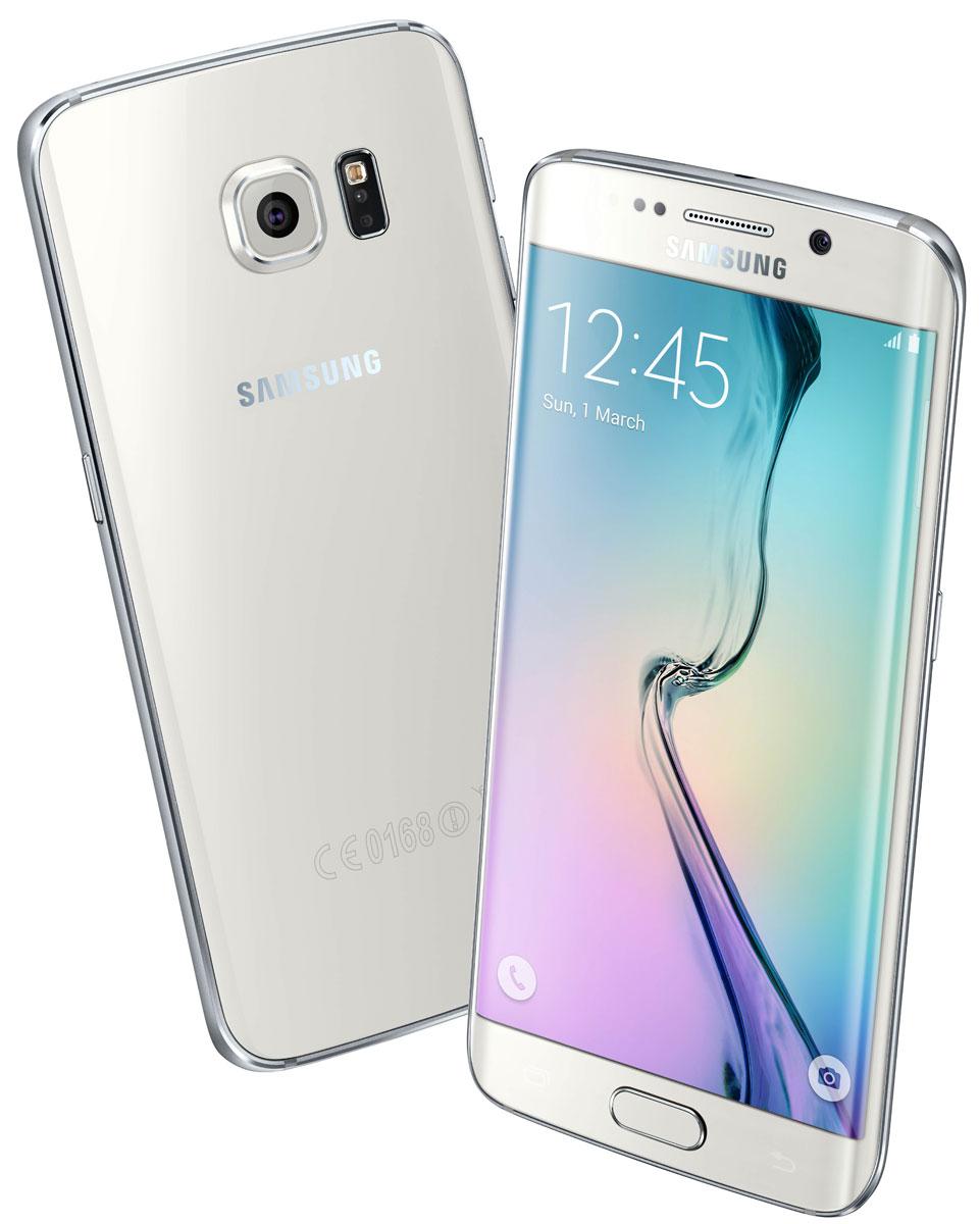 Samsung SM-G925F Galaxy S6 Edge (128 GB), White