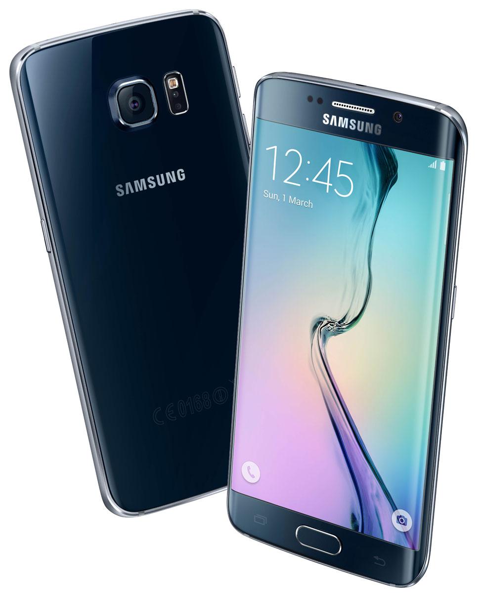 Samsung SM-G925F Galaxy S6 Edge (64 GB), Black Sapphire ( SM-G925FZKESER )