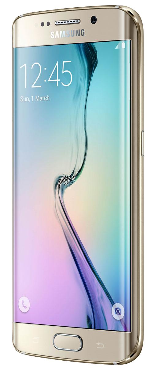 Samsung SM-G925F Galaxy S6 Edge (64 GB), Gold ( SM-G925FZDESER )